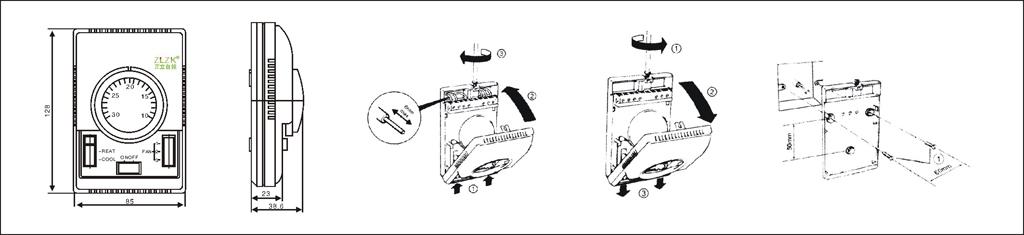 风机盘管温控器(机械式)